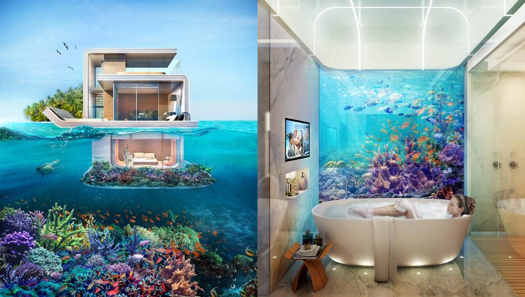 Underwater hotel Poseidon Cbs New York 12 Best Underwater Hotels On Planet Earth Add To Bucketlist