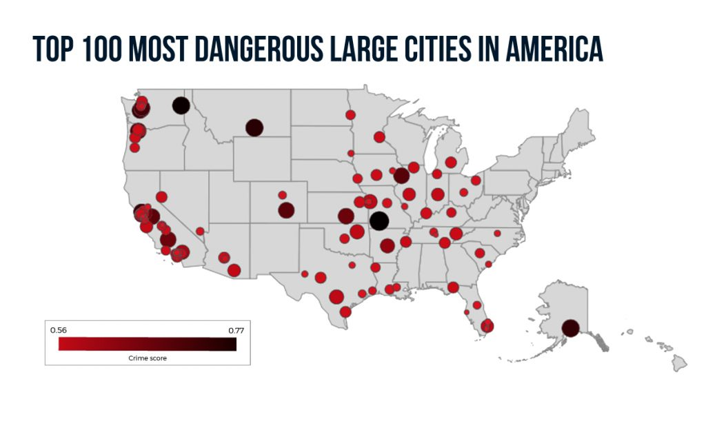 Take Caution: 16 Most Dangerous Cities in America this ...